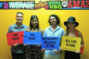 Day Trip Red Light Zone Escape Room near Hallandale Beach, Florida