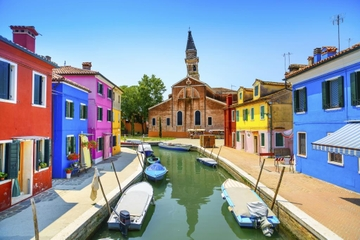 Excursão privada: tour de meio dia por Murano, Burano e Torcello
