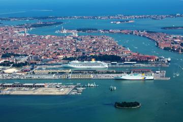 Transfert partagé à l'arrivée à Venise: du port de croisière de...