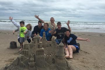 South Padre Island Sandcastling
