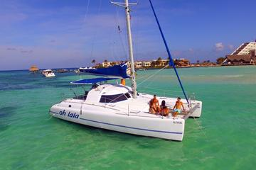 Cancun Catamaran Private Half Day Cruise Up to 25 people