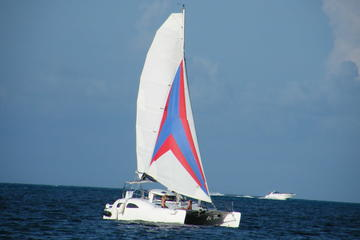 Private Half-Day Catamaran Cruise from Cancun