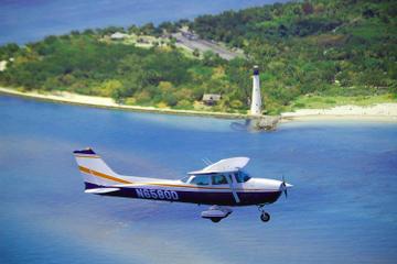 Excursão aérea do pôr do sol em Miami