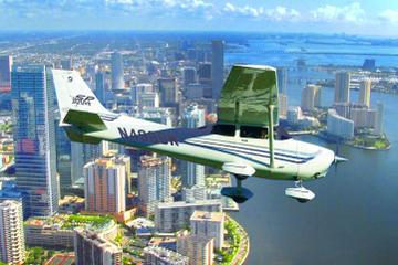Großer Rundflug über Miami