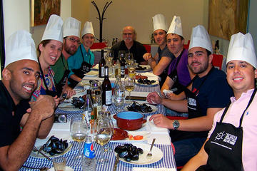 Private Group Paella Cooking Class and Panoramic City Tour of Valencia