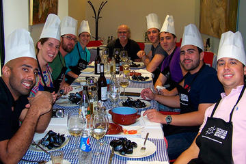 Small Group Paella Cooking Class and Panoramic City Tour of Valencia