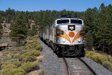 Pacote de aventura ferroviária no Grand Canyon