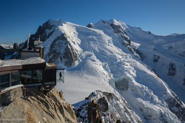 Chamonix, Aiguille du Midi Cable Car Ride and Paragliding Experience...