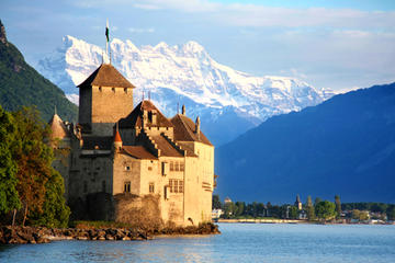 Escapada a Montreux y Château de Chillon con crucero en barco de vapor