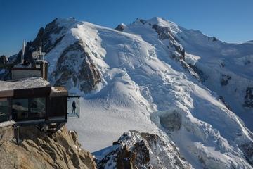 Excursão privada: Mont Blanc e Chamonix Viagem de um dia saindo de...