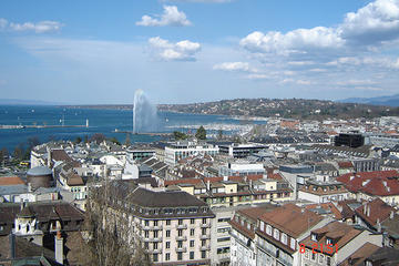 Excursión a la ciudad de Ginebra