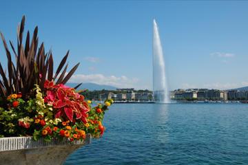 Giro turistico della città di Ginevra e crociera in barca