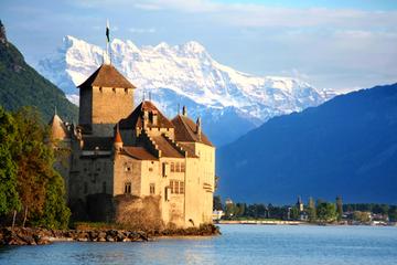 Gita di una giornata a Losanna e a Montreux e al Castello di Chillon