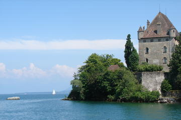 Independent Yvoire Tour and Lake Geneva Cruise with Private Transport...