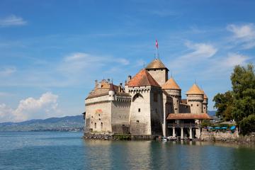 Tour d'hiver Montreux et tour pour la visite du Château de Chillon