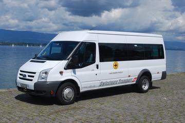 Transfert de départ partagé: Des hôtels de Chamonix à l'aéroport de...