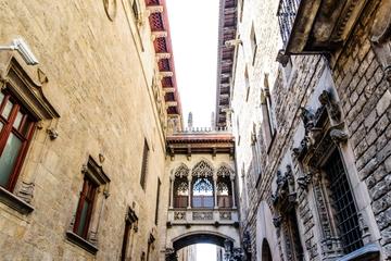 Rundgang durch das Gotische Viertel am Vormittag, Barcelona
