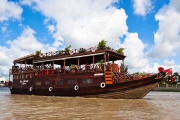 Croisière sur le delta du Mékong avec visite du village et promenade...