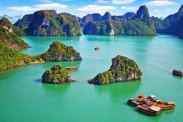 Crucero de tres días en junco en la bahía de Halong