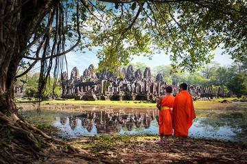 Excursion privée: 3nuits aux temples d'Angkor et au lac Tonle Sap...