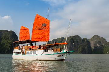 Full-Day Group Tour to Halong Bay on a Deluxe L'azalee Cruise from...