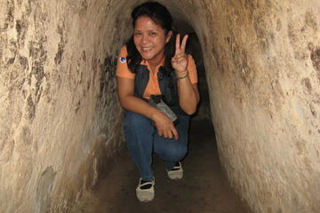 Private Tour: Cu Chi-Tunnel und Cao Dai-Tempel, Ganztagesausflug ab...