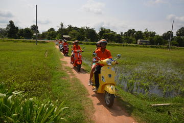 Vespa Countryside Tour from Siem Reap