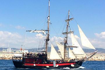 Barcelona Litoral Pirate Boat Trip
