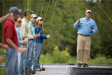 Day Trip Private Lesson: 2-Hour Fly-Casting Lesson near Austin, Texas