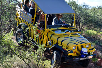 Day Trip African Ambush Jeep & Winery Tour near Camp Verde, Arizona