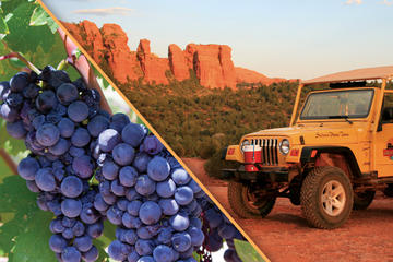 Private Jeep and Wine Tasting Combo...