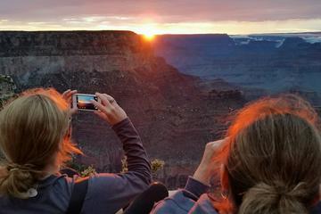 Grand Canyon Tour bei Sonnenuntergang...