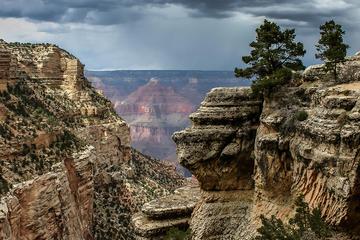 Südrand des Grand Canyon ab Flagstaff...