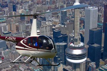 Tour en hélicoptère de 7minutes au-dessus de Toronto