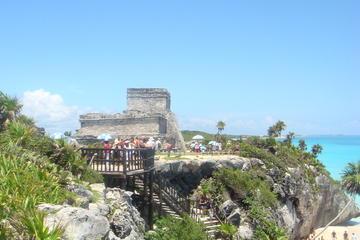 Tour privado: excursión a Tulum y Gran Cenote desde la Playa del...