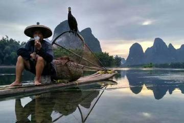 1 Day Professional Photographer Tour :Farmer, Buffalo,Fishman,Comorant  Li river