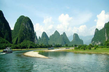 Li River Big Boat Tour From Guilin To Yangshuo & Tea Plantation With Private Car