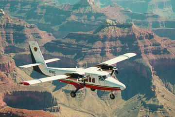 Grand Canyon West Rim, tur med fly