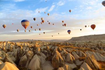 Voo de balão de ar quente na Capadócia