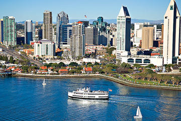 Crucero con brunch acompañado de champán en San Diego