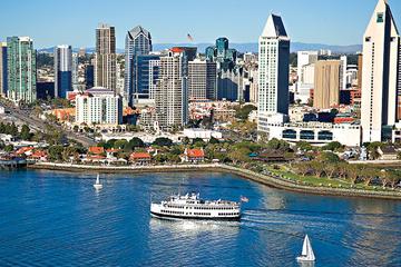 Cruise i San Diego med champagnebrunsj