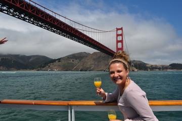 Kryssning med champagnebrunch i San Francisco