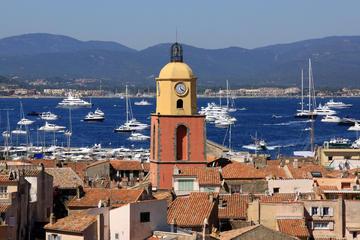 Excursion panoramique autoguidée à Saint-Tropez au départ de Nice