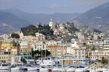 Panoramablick-Audiotour nach San Remo italienische Riviera ab Nizza