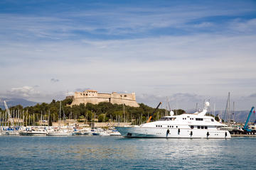 Panoramic audio-guide tour in Antibes and Saint Paul de Vence
