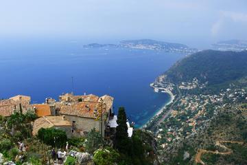 Recorrido panorámico con audioguía a Eze y al Principado de Mónaco...