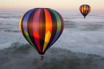 Ballongfärd i soluppgången i Orlando