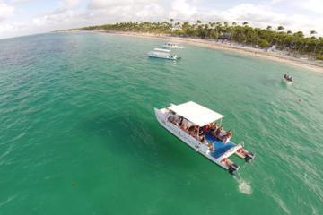 Mergulho com snorkel em Bavaro saindo de Punta Cana