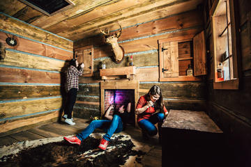 Day Trip Gold Rush Escape Room near Pigeon Forge, Tennessee