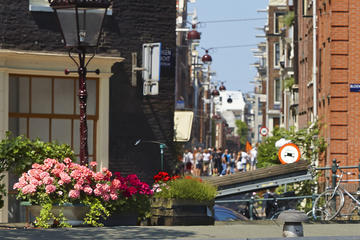 Alquiler de hidropedal en Ámsterdam con Heineken Experience opcional